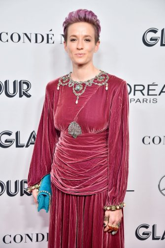 NEW YORK, NEW YORK - NOVEMBER 11: Megan Rapinoe attends the 2019 Glamour Women Of The Year Awards at Alice Tully Hall on November 11, 2019 in New York City. (Photo by Theo Wargo/WireImage,)