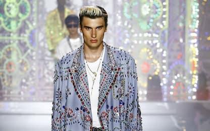 Milano Fashion Week, la Collezione Uomo PE2022 di Dolce&Gabbana. FOTO