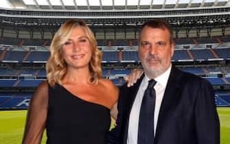 Myrta Merlino e Marco Tardelli