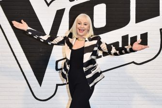 MILAN, ITALY - FEBRUARY 19:  Raffaella Carra attends 'The Voice Of Italy' Press Conference on February 19, 2016 in Milan, Italy.  (Photo by Stefania D'Alessandro/Getty Images)
