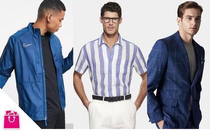 Saldi estivi 2021, abbigliamento uomo: le offerte da non perdere