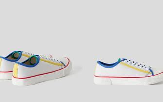 Sneakers in puro cotone