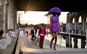 La sfilata di Valentino a Venezia