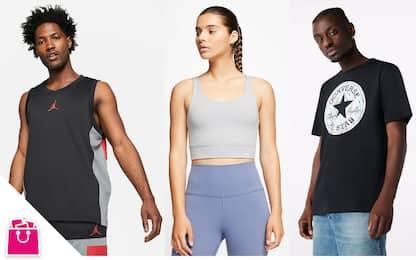 Saldi estivi 2021, abbigliamento sportivo: le migliori offerte
