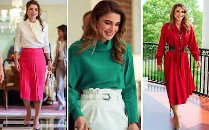 Rania di Giordania in USA: i suoi look più belli. FOTO