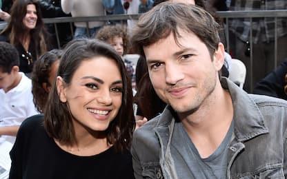 "Ashton Kutcher e Mila Kunis sui figli: ""Li laviamo solo quando serve"""