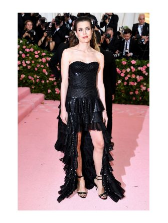 NEW YORK, NEW YORK - MAY 06: Charlotte Casiraghi attends The 2019 Met Gala Celebrating Camp: Notes on Fashion at Metropolitan Museum of Art on May 06, 2019 in New York City. (Photo by Dimitrios Kambouris/Getty Images for The Met Museum/Vogue)