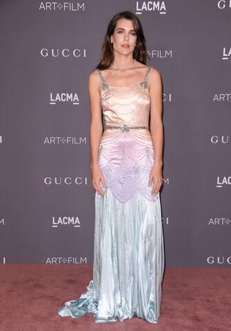 LOS ANGELES, CA - NOVEMBER 04: Charlotte Casiraghi attends the 2017 LACMA Art + Film gala at LACMA on November 4, 2017 in Los Angeles, California.  (Photo by Jason LaVeris/FilmMagic)