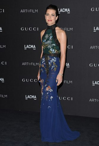 LOS ANGELES, CA - NOVEMBER 01:  Industrialist Charlotte Casiraghi attends the 2014 LACMA Art + Film Gala Honoring Barbara Kruger And Quentin Tarantino Presented By Gucci at LACMA on November 1, 2014 in Los Angeles, California.  (Photo by Axelle/Bauer-Griffin/FilmMagic)