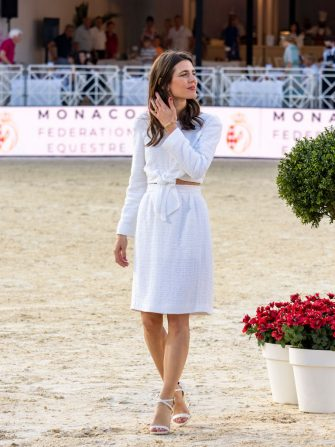 MONTE-CARLO, MONACO - JULY 02: Charlotte Casiraghi attends the 15th international Monte-Carlo Jumping on July 02, 2021 in Monte-Carlo, Monaco. (Photo by Arnold Jerocki/Getty Images)