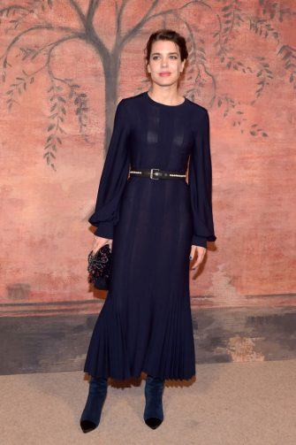 PARIS, FRANCE - MAY 03:  Charlotte Casiraghi attends the Photocall of  the 'Chanel Cruise 2017/2018 Collection' at Grand Palais on May 3, 2017 in Paris, France.  (Photo by Pascal Le Segretain/Getty Images)