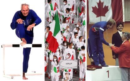 Olimpiadi, la fotostoria delle divise degli Azzurri firmate