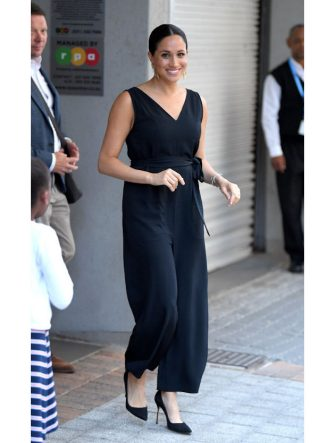 CAPE TOWN, SOUTH AFRICA - SEPTEMBER 25: Meghan, Duchess of Sussex visits the African not-for-profit organisation 'mothers2mothers' during day three of the royal tour of South Africa on September 25, 2019 in Cape Town, South Africa. (Photo by Karwai Tang/WireImage)