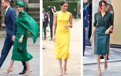 Meghan Markle, 40 anni di look iconici: fotostory degli abiti più bell
