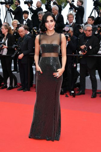 """CANNES, FRANCE - MAY 15: Rocio Munoz Morales attends the screening of """"Les Miserables"""" during the 72nd annual Cannes Film Festival on May 15, 2019 in Cannes, France. (Photo by George Pimentel/WireImage)"""