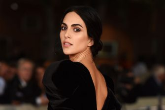 """ROME, ITALY - OCTOBER 22:  Rocío Muñoz Morales attends the red carpet of the movie """"Judy"""" during the 14th Rome Film Festival on October 22, 2019 in Rome, Italy. (Photo by Stefania D'Alessandro/Getty Images)"""