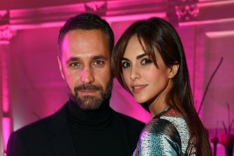 ROME, ITALY - OCTOBER 19:  Raoul Bova and Rocio Munoz Morales attend the Telethon Gala during the 11th Rome Film Fest on October 19, 2016 in Rome, Italy.  (Photo by Venturelli/Getty Images)