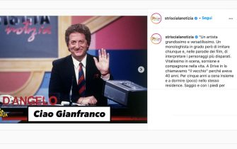 Addio a Gianfranco D'Angelo