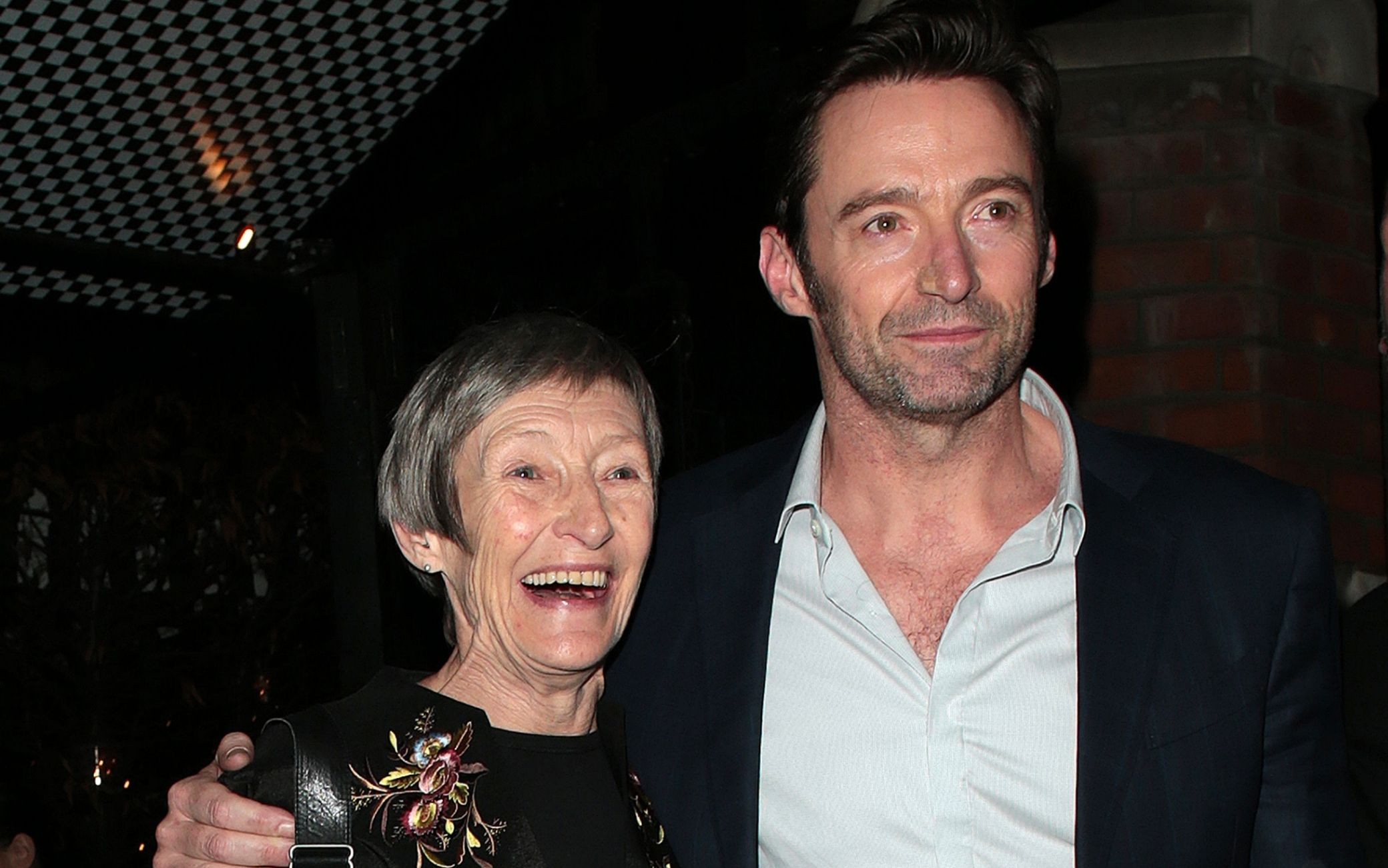 Hugh Jackman e la madre