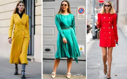 Moda, i colori dell'autunno-inverno 2021/2022: dal verde al rosso