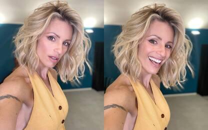 Michelle Hunziker, nuovo taglio di capelli dopo venticinque anni VIDEO