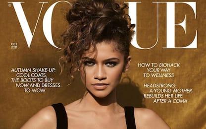 Vogue, Zendaya conquista la cover del magazine