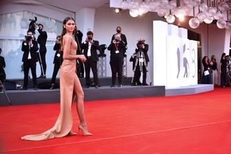 American actress Zendaya at the 78 Venice International Film Festival 2021.  Dune red carpet. Venice (Italy), September 3rd, 2021 (Photo by Rocco Spaziani/Archivio Spaziani/Mondadori Portfolio via Getty Images)