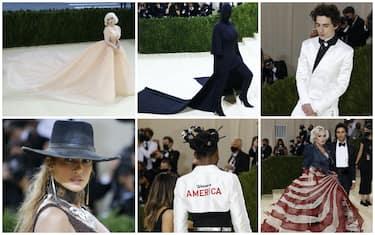 Look del Met Gala 2021a New York