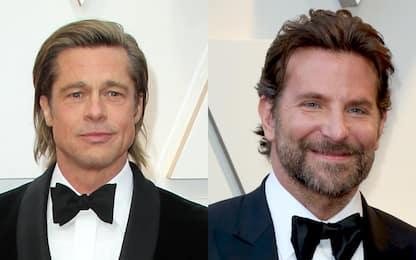 US Open, Brad Pitt e Bradley Cooper insieme in tribuna