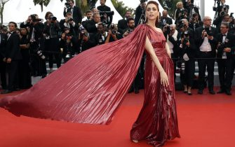 Miriam Leone sul red carpet del Festival di Venezia del 2019