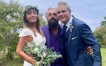 Camila Raznovich ha risposato in Normandia l'imprenditore Loic Fleury
