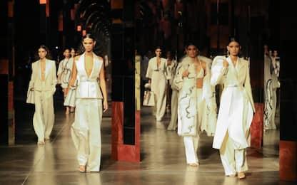 Milano Fashion Week 2021, la collezione di Fendi. FOTO