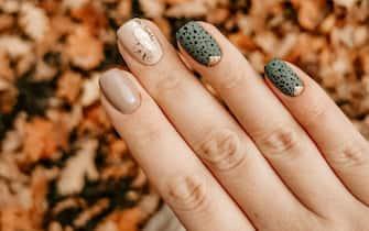 manicure autunnale
