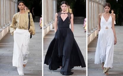 Milano Fashion Week 2021, la sfilata di Alberta Ferretti. FOTO