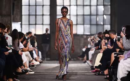 La sfilata di Missoni alla Milano Fashion Week 2021. FOTO