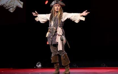 """Johnny Depp: """"Sarei disposto a fare Jack Sparrow alle feste"""""""