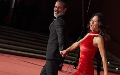 Raz Degan con la fidanzata Stuart alla Festa del Cinema di Roma 2021