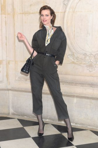 PARIS, FRANCE - FEBRUARY 26:  Eva Herzigova attends the Christian Dior show as part of the Paris Fashion Week Womenswear Fall/Winter 2019/2020 on February 26, 2019 in Paris, France. (Photo by Dominique Charriau/WireImage)