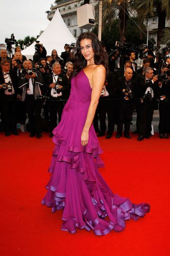 """CANNES, FRANCE - MAY 27:  Model Megan Gale attends the Closing Ceremony and """"Therese Desqueyroux"""" premiere during the 65th  Annual Cannes Film Festivalon May 27, 2012 in Cannes, France.  (Photo by Andreas Rentz/Getty Images)"""