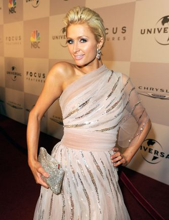 BEVERLY HILLS, CA - JANUARY 16:  TV personality Paris Hilton arrives at NBCUniversal/Focus Features Golden Globes Viewing and After Party sponsored by Chrysler held at The Beverly Hilton hotel on January 16, 2011 in Beverly Hills, California.  (Photo by Michael Caulfield/Getty Images for NBCUniversal)