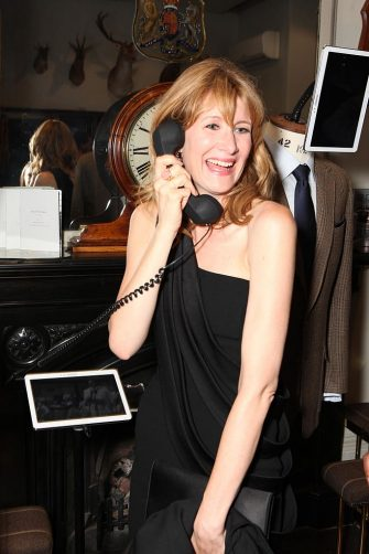 LONDON, UNITED KINGDOM - JUNE 16: Laura Dern attends the Gregory Peck Style Archive of an Icon Exhibition at Huntsman Savile Row on June 16, 2014 in London, England. (Photo by David M. Benett/Getty Images)