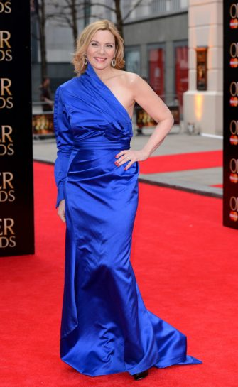 LONDON, ENGLAND - APRIL 28:  Kim Cattrall attends The Laurence Olivier Awards at The Royal Opera House on April 28, 2013 in London, England.  (Photo by Karwai Tang/WireImage)