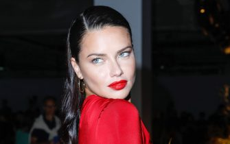 New York, NY - 20190908 - Jason Wu Front Row at New York Fashion Week  -PICTURED: Adriana Lima -PHOTO by: Gerardo Somoza/startraksphoto.com  This is an editorial, rights-managed image. Please contact Startraks Photo for licensing fee and rights information at sales@startraksphoto.com or call +1 212 414 9464 This image may not be published in any way that is, or might be deemed to be, defamatory, libelous, pornographic, or obscene. Please consult our sales department for any clarification needed prior to publication and use. Startraks Photo reserves the right to pursue unauthorized users of this material. If you are in violation of our intellectual property rights or copyright you may be liable for damages, loss of income, any profits you derive from the unauthorized use of this material and, where appropriate, the cost of collection and/or any statutory damages awarded