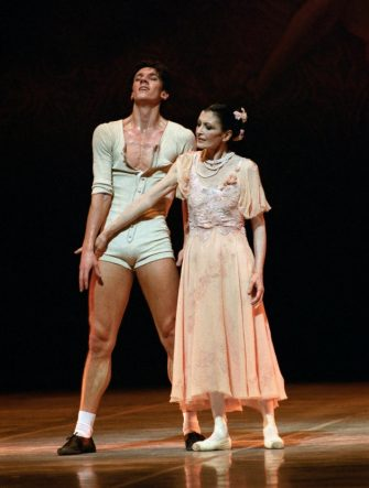 Il Teatro alla Scala annuncia la scomparsa di Carla Fracci 1996 Cheri con Massimo Murru   350152LMN ph Lelli_Masotti