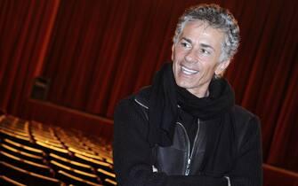 Milano, presentazione dello spettacolo 'Un americano a Parigi'. Nella foto, Raffaele Paganini