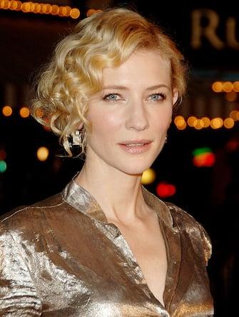 "Cate Blanchett during ""Babel"" Los Angeles Premiere - Arrivals at Mann Village in Westwood, California, United States. (Photo by Jon Kopaloff/FilmMagic)"