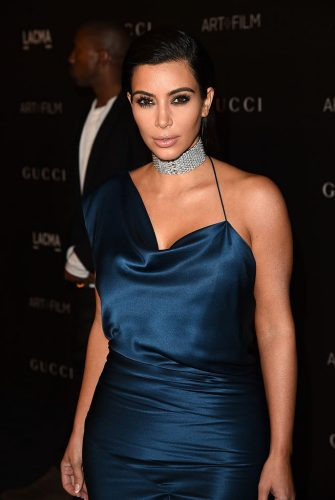 LOS ANGELES, CA - NOVEMBER 01:  Kim Kardashian West attends the 2014 LACMA Art + Film Gala honoring Barbara Kruger and Quentin Tarantino presented by Gucci at LACMA on November 1, 2014 in Los Angeles, California.  (Photo by Jason Merritt/Getty Images for LACMA)