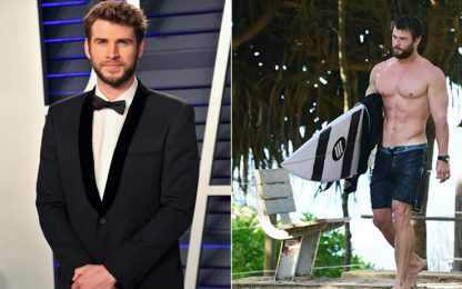 Chris e Liam Hemsworth: quando la bellezza è di casa. FOTO