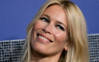 """German supermodel Claudia Schiffer attends the US premiere of """"Rocketman"""" on May 29, 2019 at Alice Tully Hall in New York. (Photo by Don Emmert / AFP)        (Photo credit should read DON EMMERT/AFP via Getty Images)"""