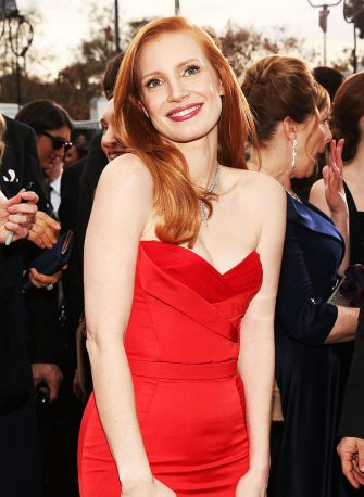 LOS ANGELES, CA - JANUARY 27:  Actress Jessica Chastain attends the 19th Annual Screen Actors Guild Awards at The Shrine Auditorium on January 27, 2013 in Los Angeles, California. (Photo by Christopher Polk/WireImage) 23116_012_0498.jpg